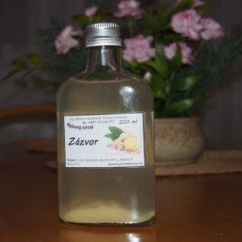 Zázvor bylinný sirup 200 ml